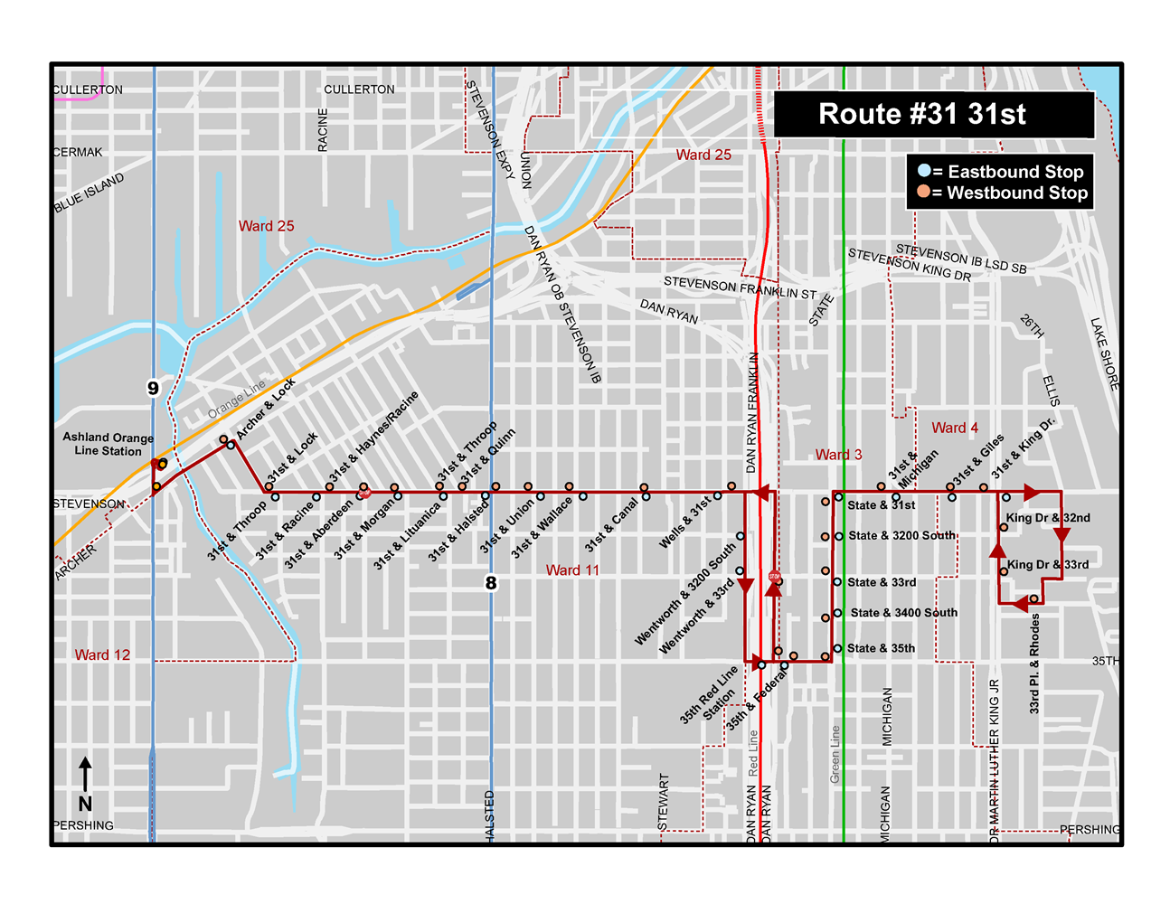 31st Bus Route Pilot Improvement Projects Cta