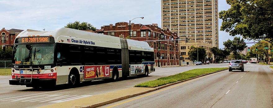 Mature on a public bus tube