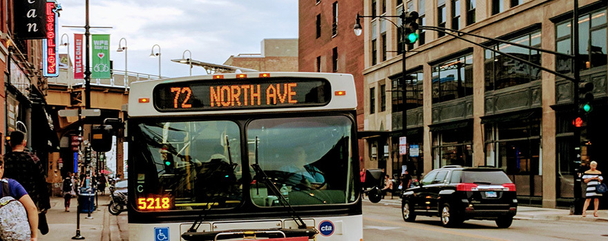72 North Bus Route Info Cta