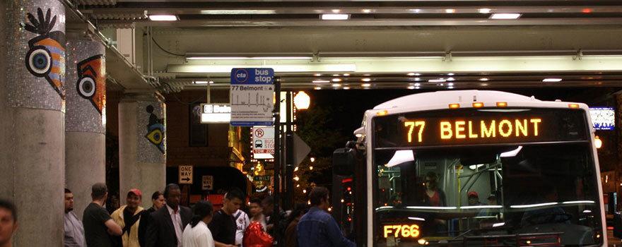 77 Belmont Bus Route Info Cta