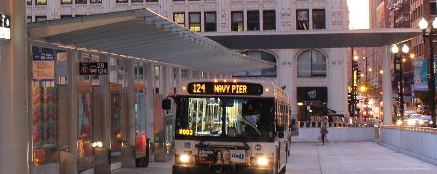 124 Navy Pier (Bus Route Info)