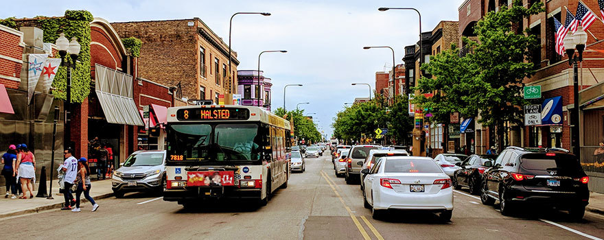 8 Halsted Bus Route Info