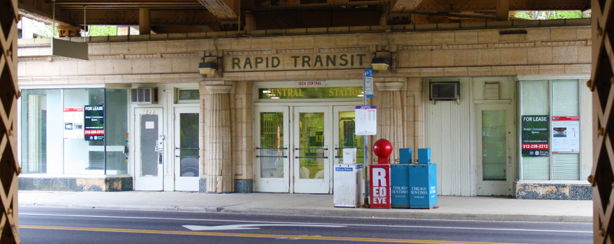 Sitetransitchicagocom Chicago Subway Map.Central Purple Line Station Evanston Station Information Cta