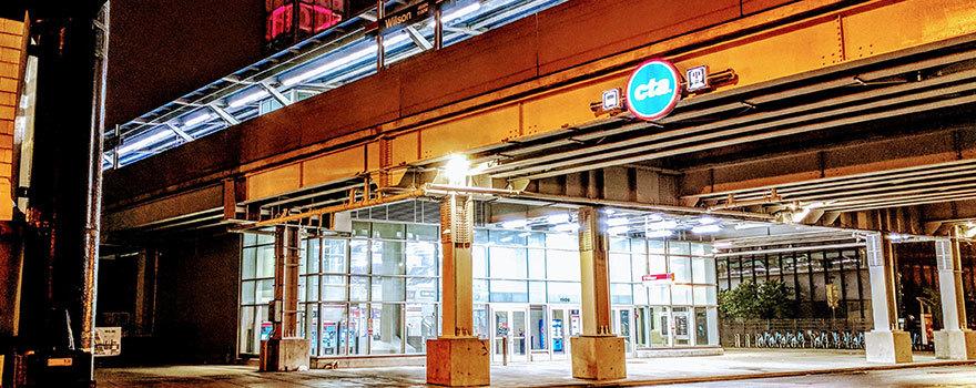 Sitetransitchicagocom Chicago Subway Map.Wilson Station Information Cta