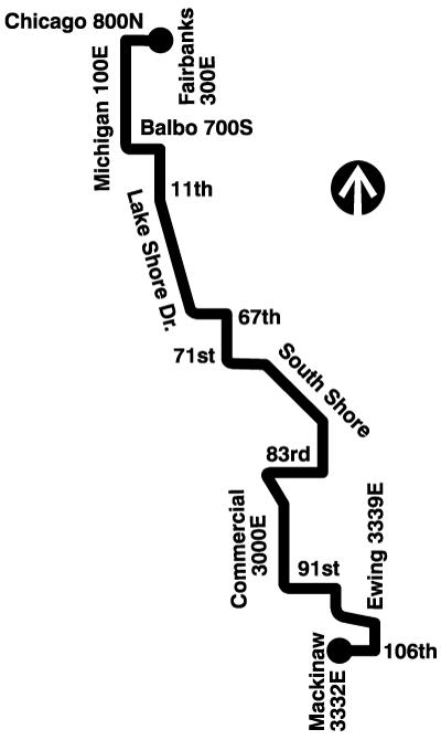 26 South Shore Express (Bus Route Info) - CTA
