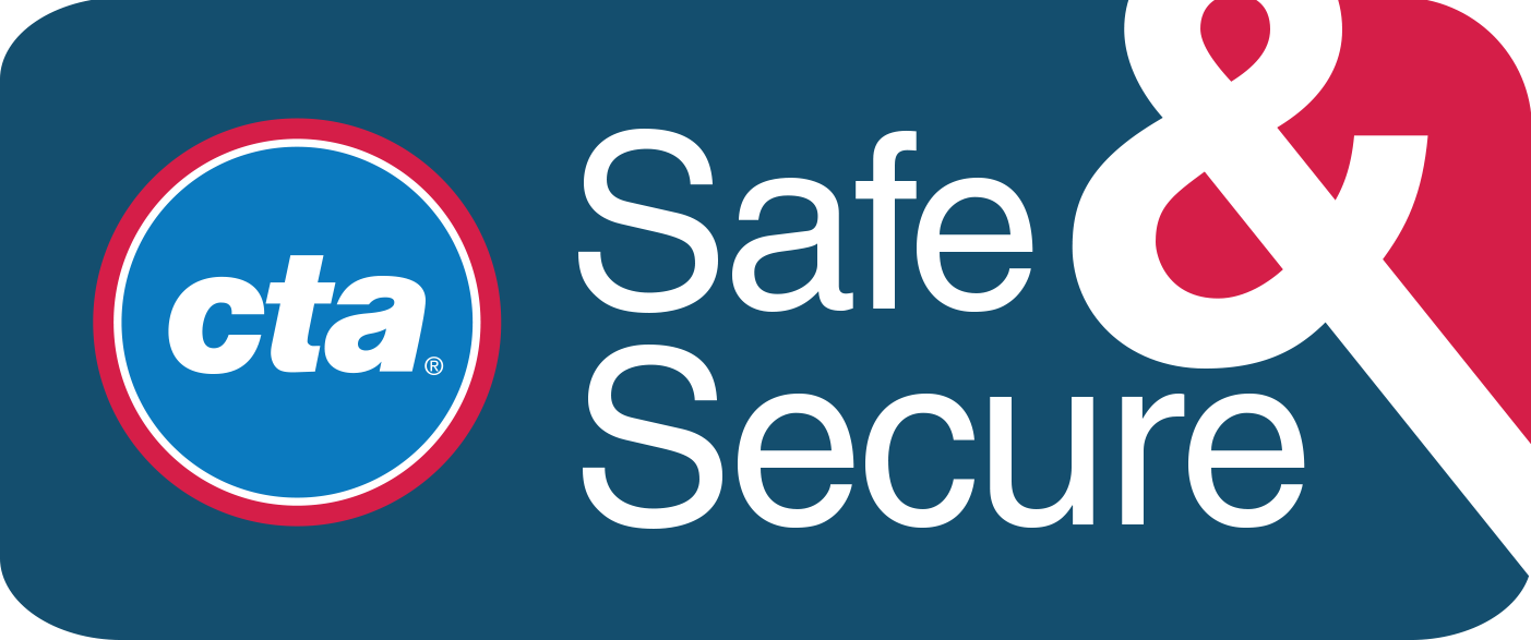 CTA Safe & Secure logo