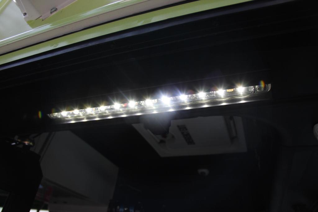 LED lighting on Electric Bus