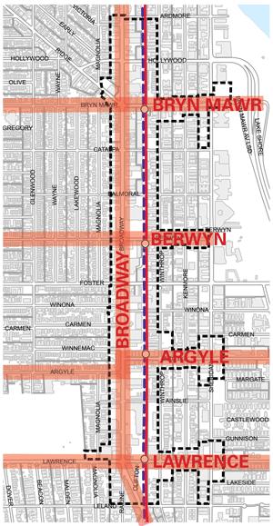 Sitetransitchicagocom Chicago Subway Map.Tod Plan Red Purple Modernization Cta