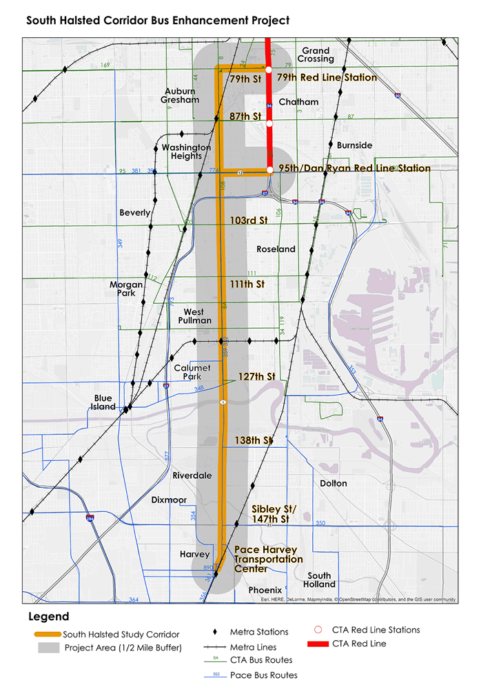 South Halsted Project Map