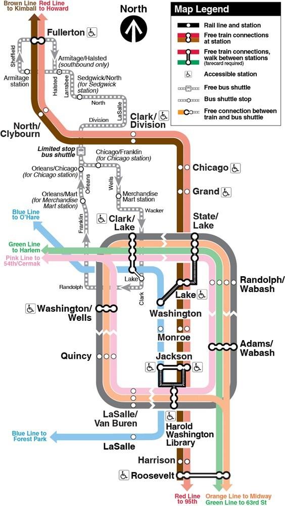 Sitetransitchicagocom Chicago Subway Map.Ravenswood Connector Rehabilitation Improvement Projects Cta