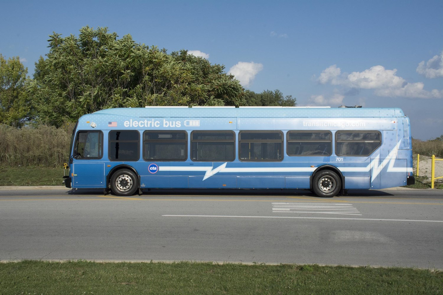 New Flyer 700-series all-electric bus