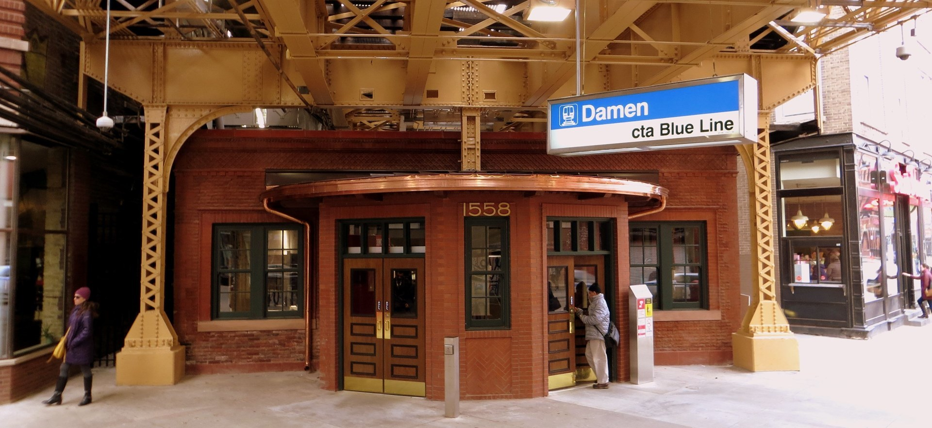 Damen after renovation
