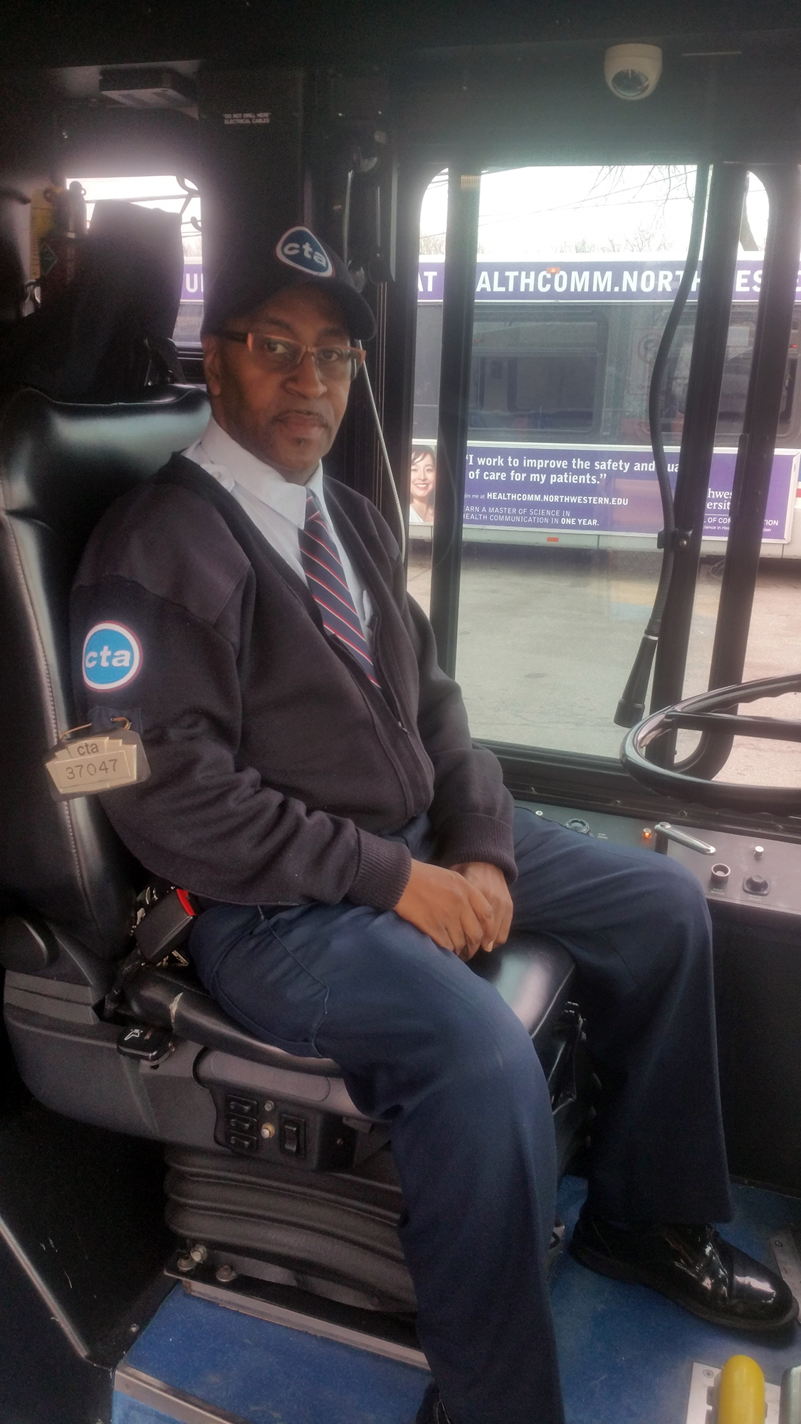 CTA Encourages Riders to Say 'Thank You' on Transit Driver