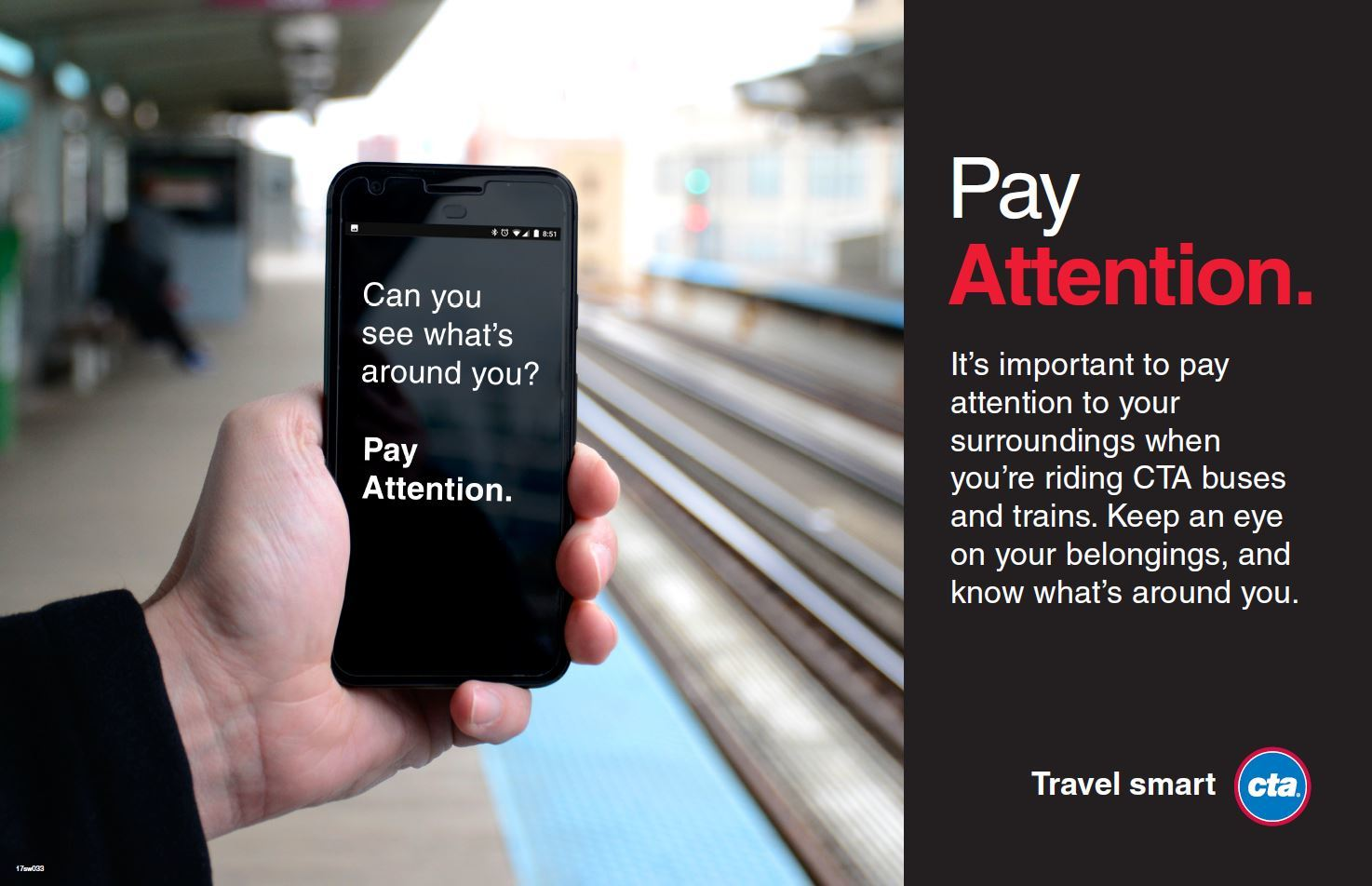 CTA campaign creative: Can you see what's around you?