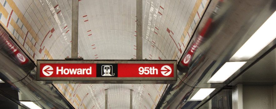 clark-division-subway-directional-sign