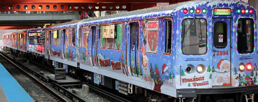 Holiday Train at Midway