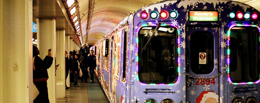 Holiday Train at Clark/Lake