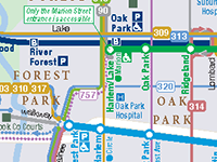 Sitetransitchicagocom Chicago Subway Map.How To Guide Making Regional Chicago Transit Connections Cta