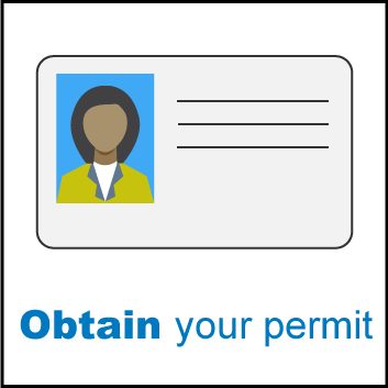 Obtain your permit