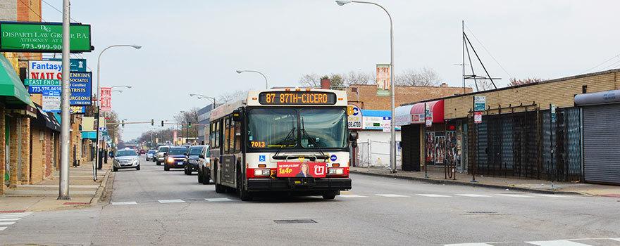87 87th Bus Route Info Cta
