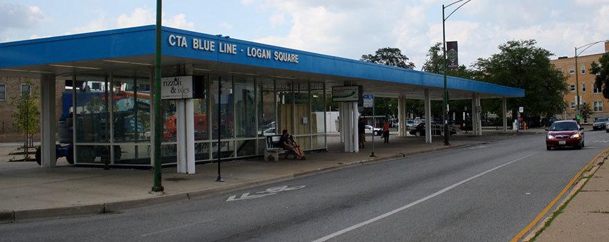 Logan Square Station Information Cta