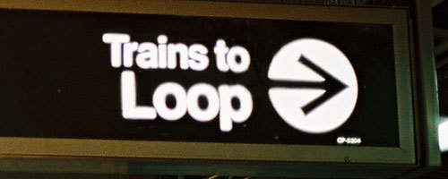 trains to loop